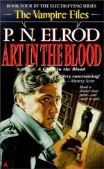 Art In The Blood (Vampire Files #4)